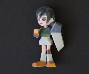 final fantasy vii 3d printed figurines by Joaquin Baldwin 8 300x250
