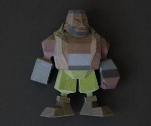 final fantasy vii 3d printed figurines by Joaquin Baldwin 9 300x250