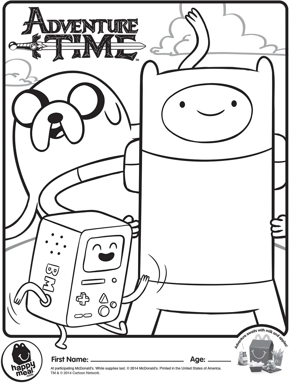 s adventure time happy meal toys are almost here
