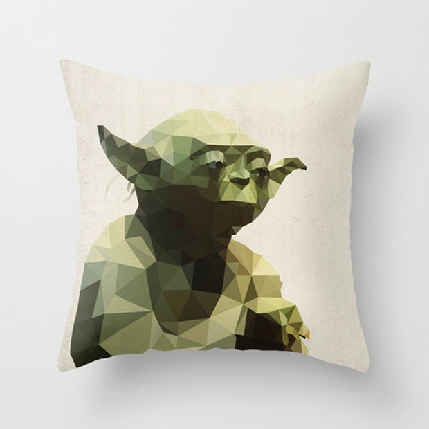 star wars polygon pillow covers the