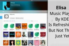Elisa Music Player KDE