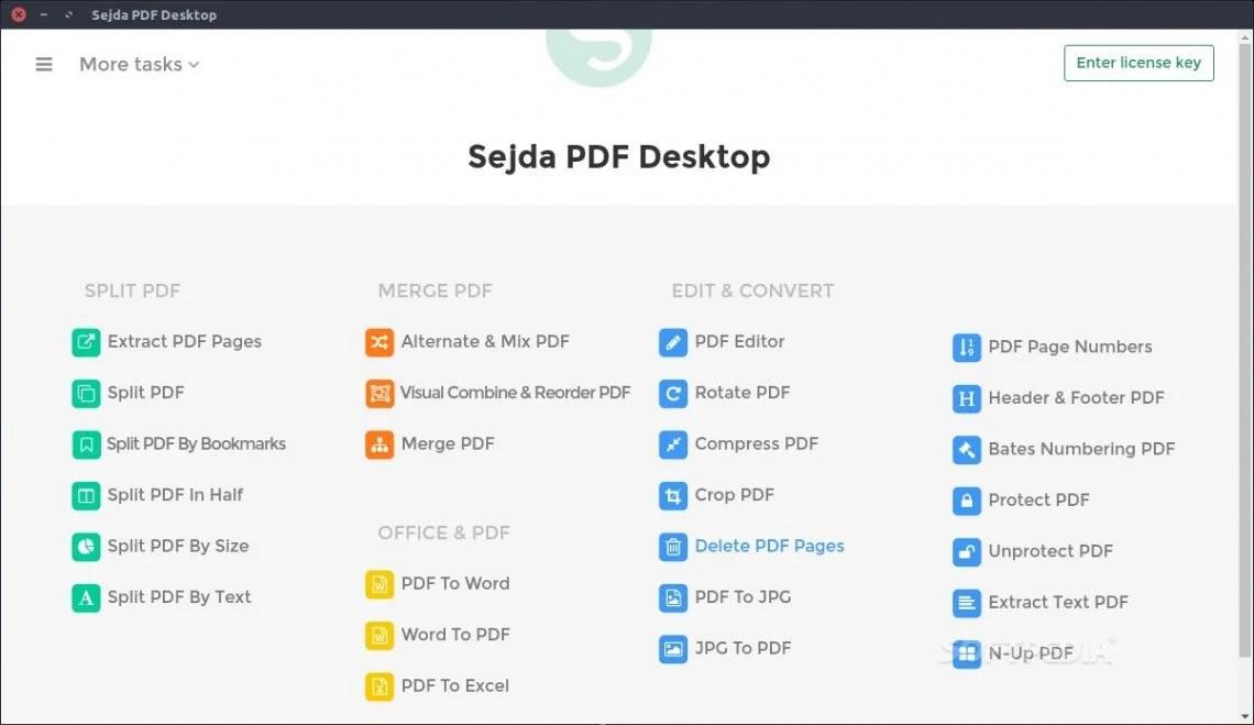Sejda PDF Editor for Linux
