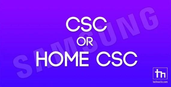 CSC oder HOME CSC?  Welche Datei sollten Sie in Odin   flashen?  Technisch