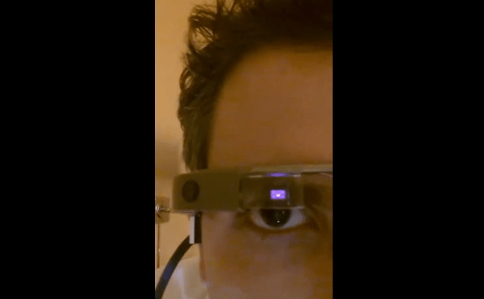Google Glass app lets you sneak photos with a wink   The Verge