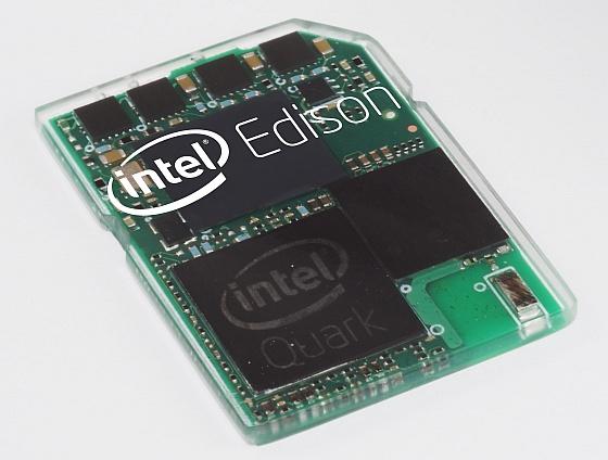 인텔이 선보인 SD카드 크기의 '컴퓨터'