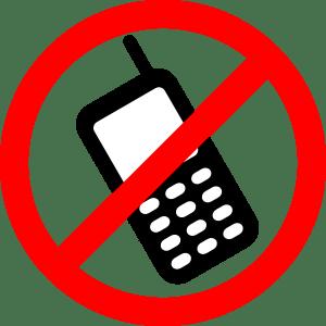 phone prohibited