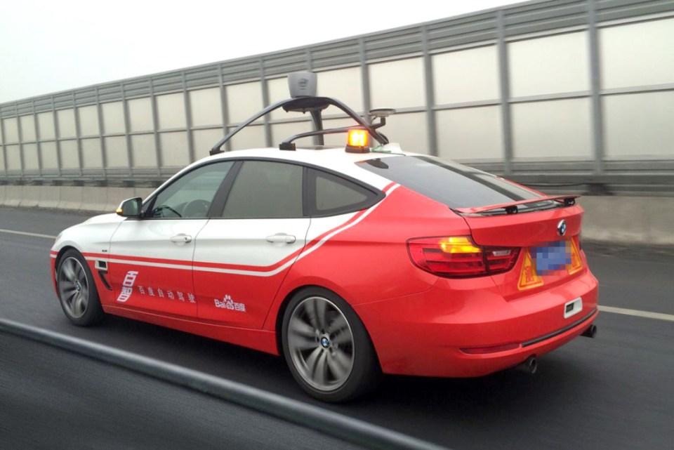 중국의 구글, 바이두 무인자동차 성공 운행