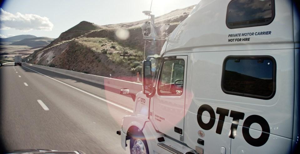오토(Otto), 주간고속도로(Interstate highways)에서만 운행하는 자율 주행 상용 트럭 실험