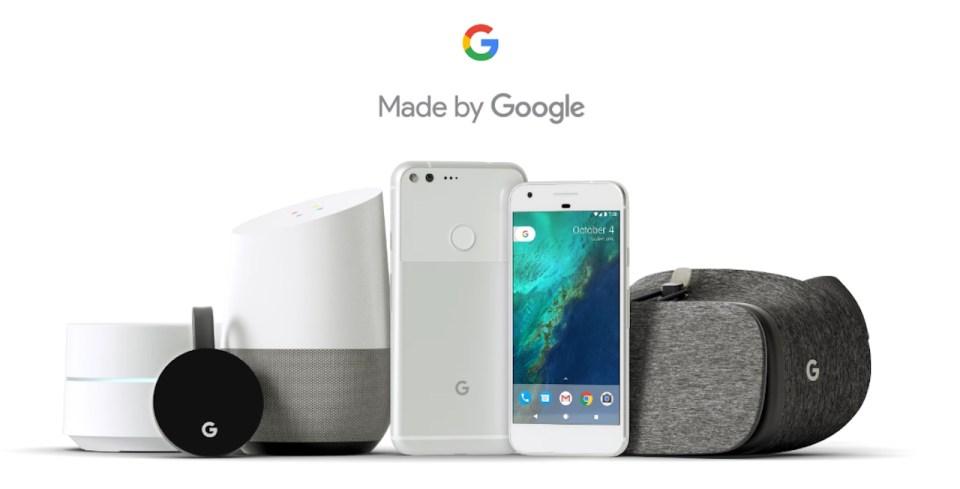 구글, 픽셀 폰 / 스마트홈 / VR 등 5개 하드웨어 신제품 발표