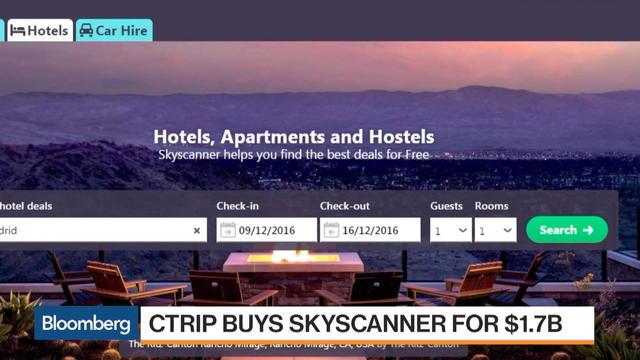 스카이스캐너, 중국 최대 여행 서비스 업체 씨트립에 인수