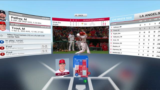 MLB.com, 6월 1일 구글 Daydream용 'At Bat VR' 출시