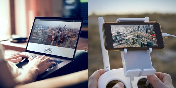 드론베이스(DroneBase), 게티이미지(Getty Image)와 독점 콘텐츠 파트너십 체결