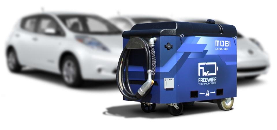 전기차 충전을 위한 이동형 보조전지