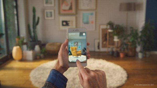 이케아(IKEA) 증강현실 앱 '이케아 플레이스' 출시