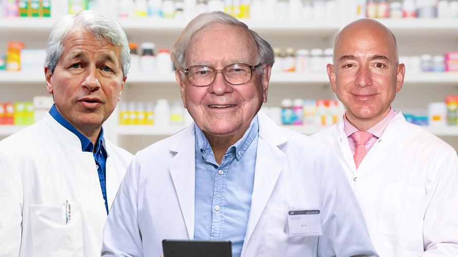 천문학적인 미국 의료비 해결을 위해 뭉치다! Amazon, Berkshire Hathaway, JPMorgan