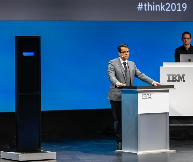인간과 인공지능의 토론 대결에서 인간이 승리했다