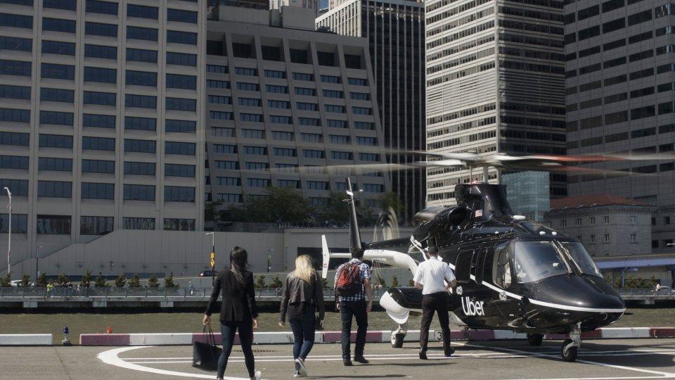 뉴욕 맨하탄에서 JFK 공항까지 우버 헬리콥터 서비스 개시