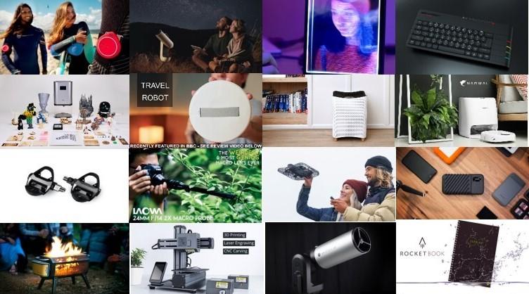 최근 5년간의 킥스타터 top 10 제품들이 주는 시사점
