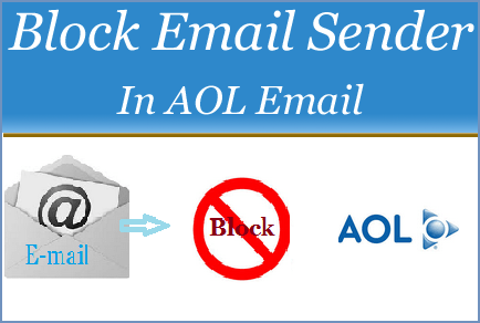 Block Email Sender In AOL Mail