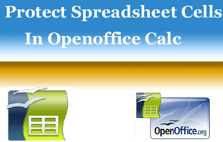 Protect a Spreadsheet In OpenOffice