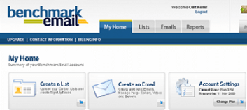 Benchmark Email Marketing Tool