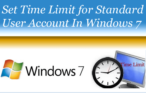 Set Time Limit for Standard User