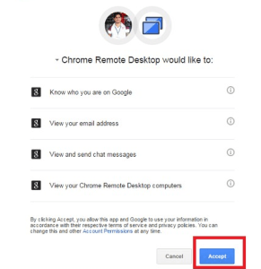 Chrome Remote Desktop Apps