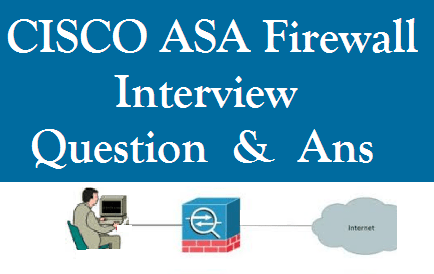 CISCO ASA Firewall Interview Question