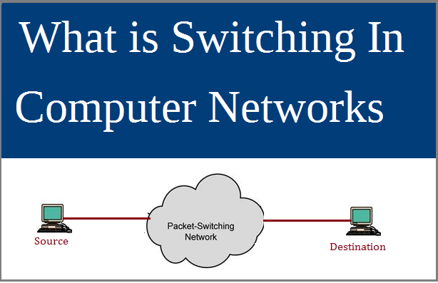What Is Switching In Computer Networks