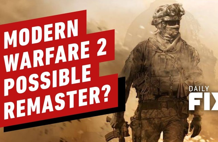 Call of Duty: Modern Warfare 2 Remaster On the Way?