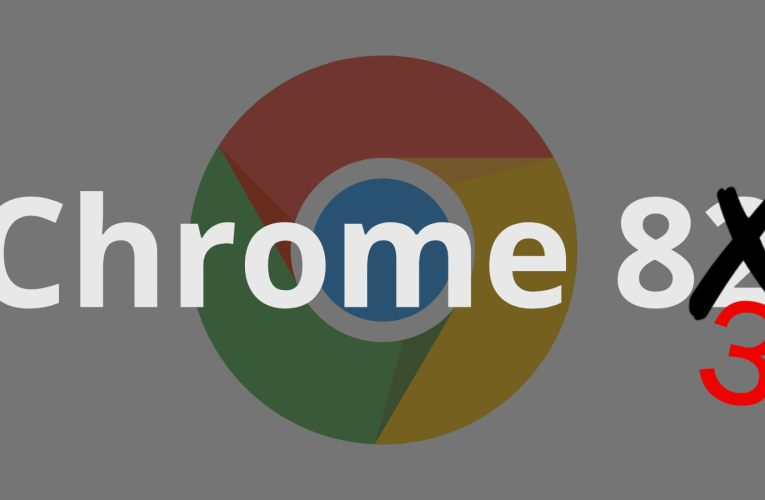 In light of delays, Chrome is skipping version 82