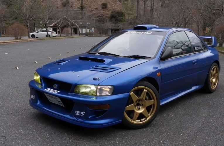 Subaru Impreza Rally Car Converted To Street Use Is An Epic Sight