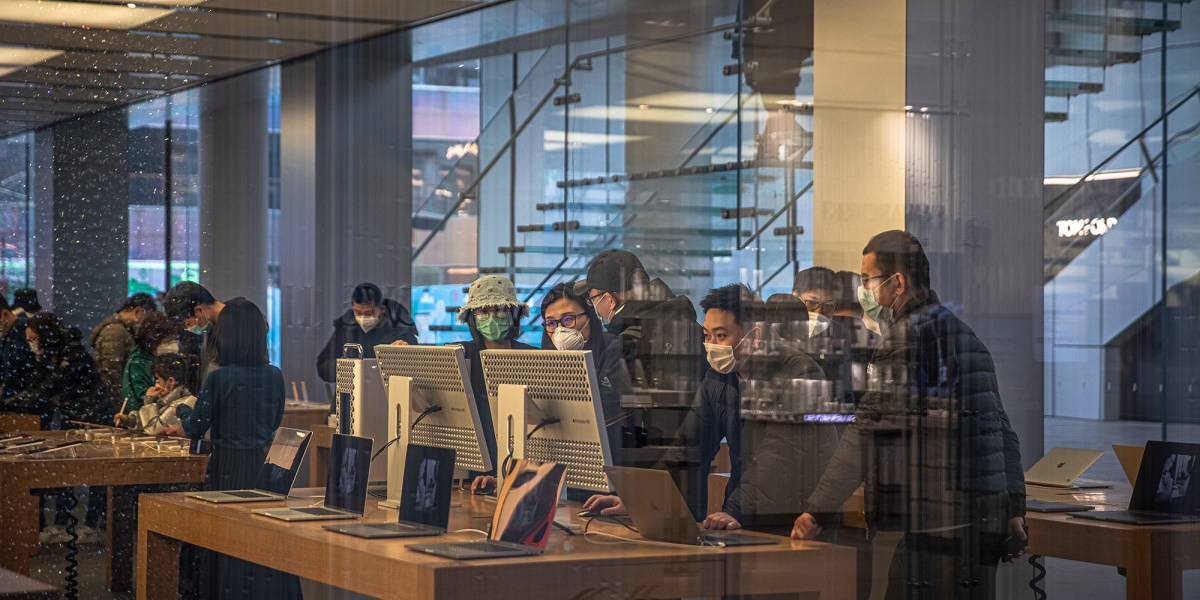 Apple reopens all stores in China as coronavirus wanes