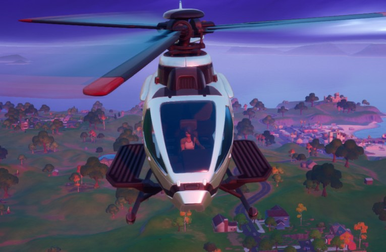 Fortnite patch adds helicopters that spawn on helipads around the map