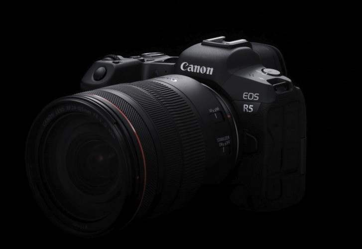 Canon EOS R5 8K camera described in a new press release