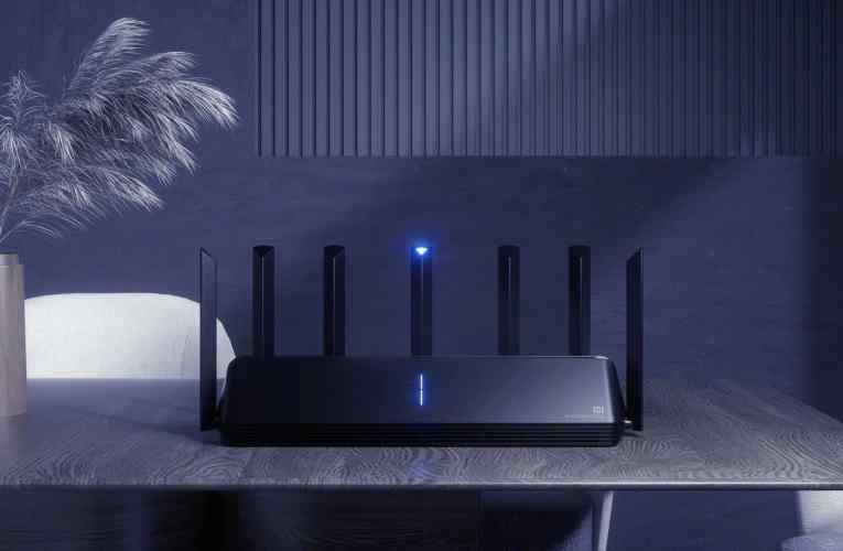 Xiaomi's first Wi-Fi 6 router with 7 antennas is offered for sale