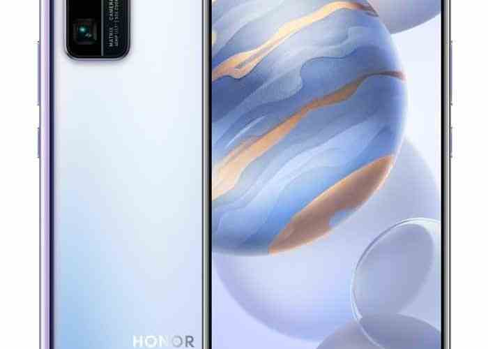 Honor 30 and 30 Pro get a new streamer mirror color scheme