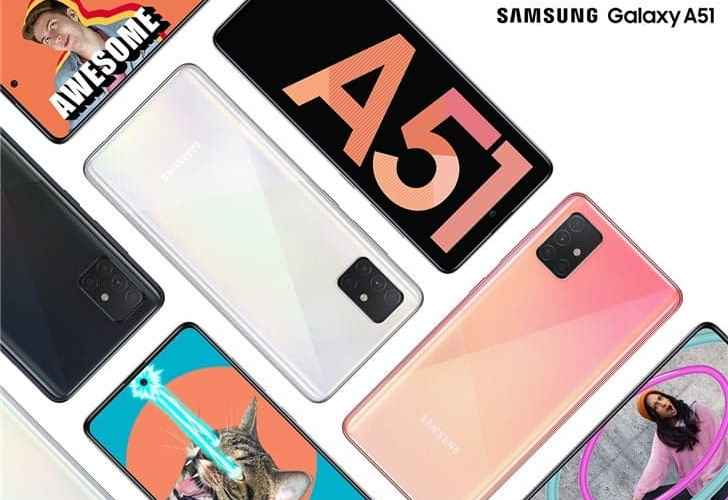Samsung Galaxy A51 and A71 have some features of the Galaxy S20 series