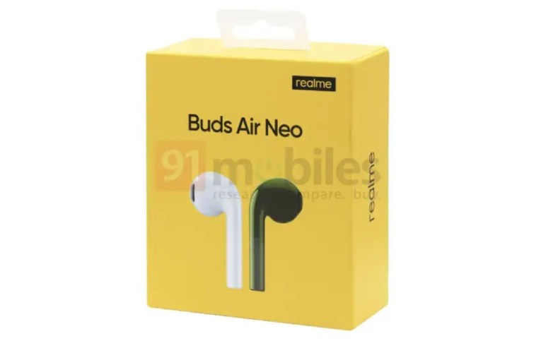 Realme Buds Air Neo with a battery life of up to 17 hours could soon be on the market