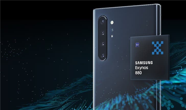 Samsung Exynos 880 5G SoC is official: uses 8nm FinFET process
