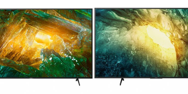 Sony Bravia X8000H and X7500H 4K HDR Android TVs announced in India