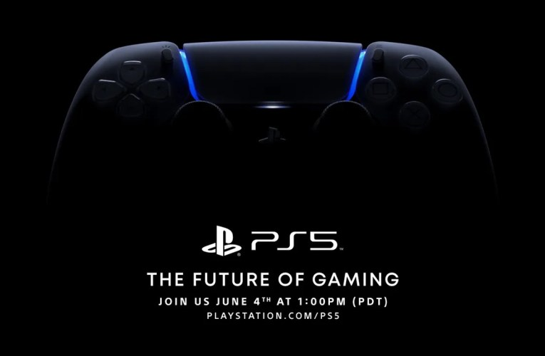 Sony is planning a PlayStation 5 unveiling event on June 5