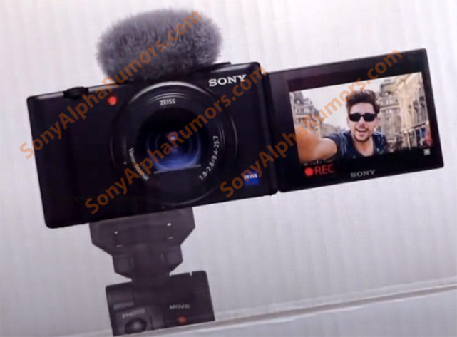 The new Sony ZV-1 compact camera will be launched on May 26th