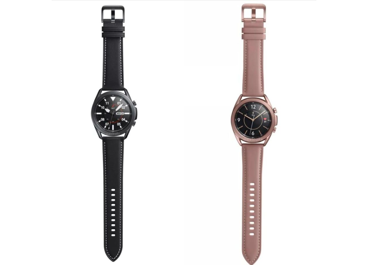 New Samsung Galaxy Watch 3 renderers reveal their color options