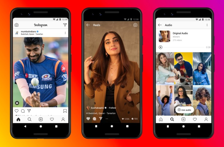 Instagram targets TikTok developers while reels go live in India