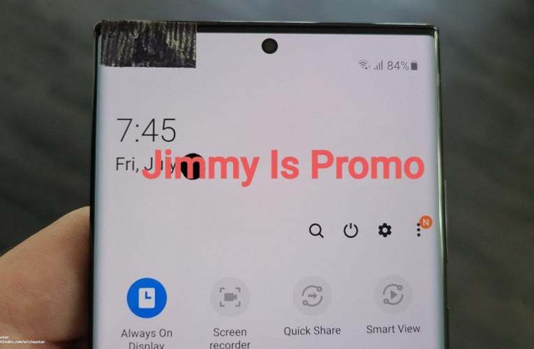 Samsung Galaxy Note 20 Ultra first live photos leaked