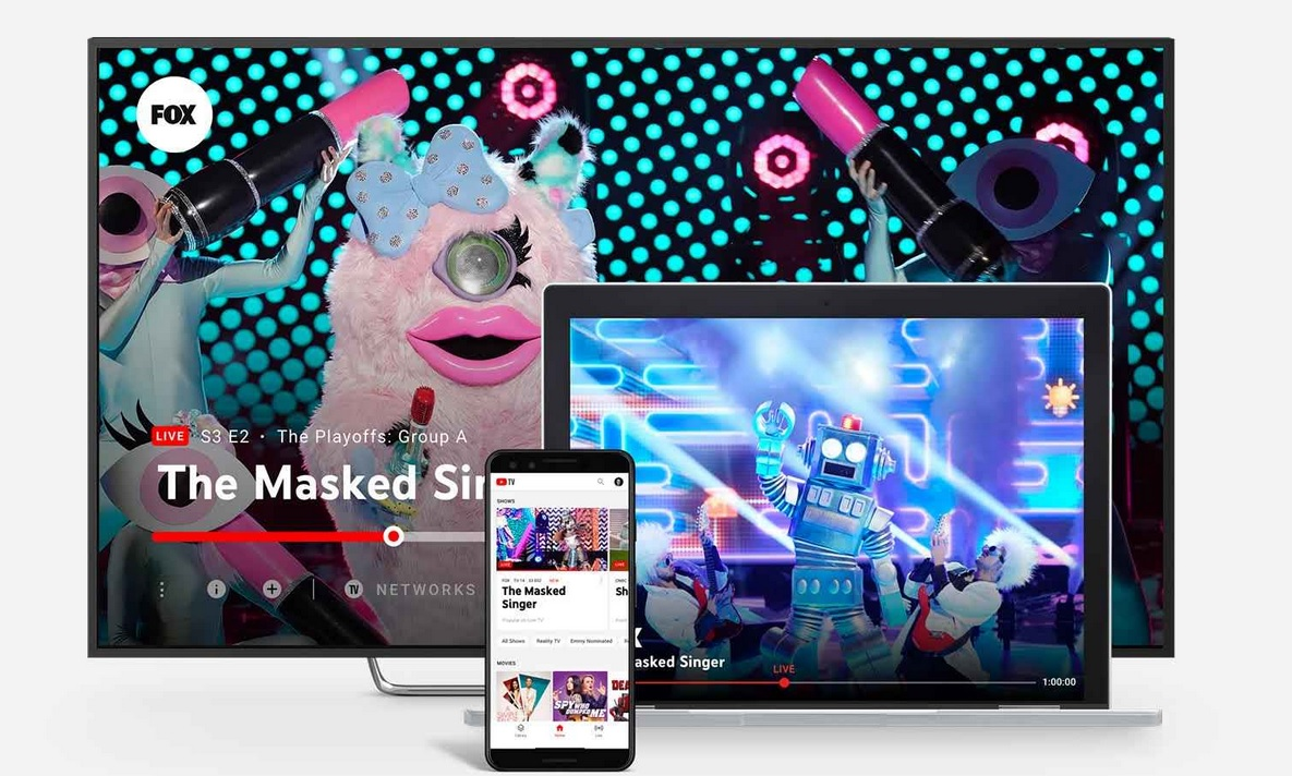 YouTube TV subscription price rose to $ 64.99 as new channels were added