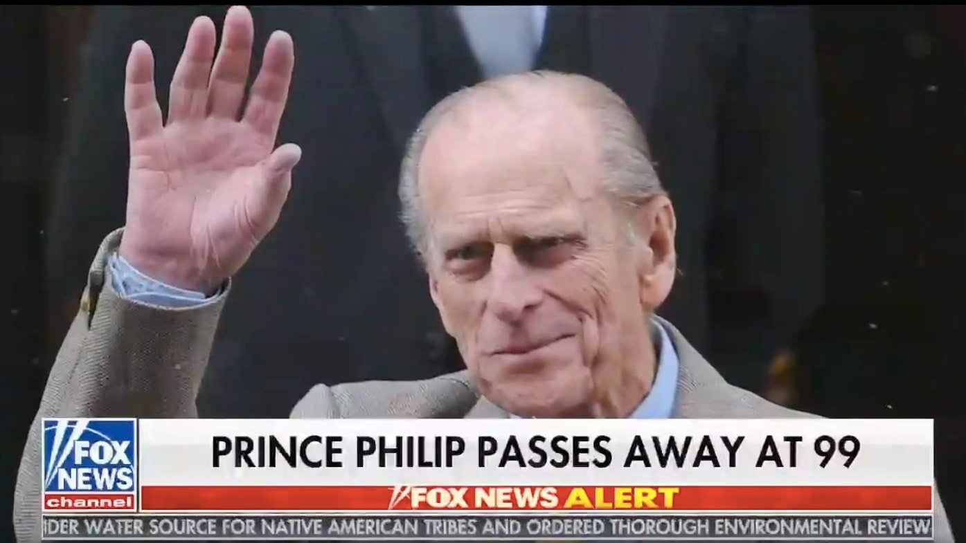 'Fox & Friends' Inevitably Blames Harry and Meghan for Prince Philip's Death