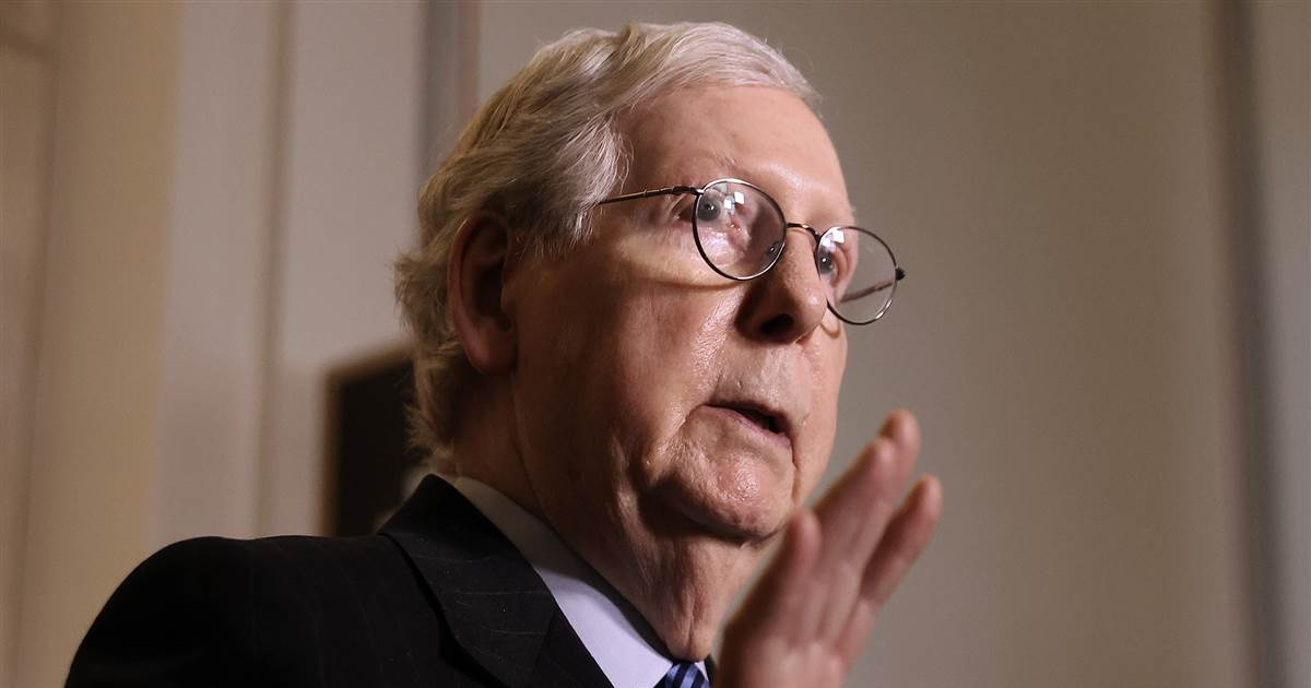 McConnell warns corporate America to 'stay out of politics' — but says donations are OK