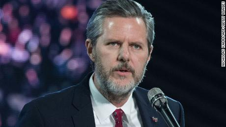 Jerry Falwell Jr. says he has resigned as president of Liberty University